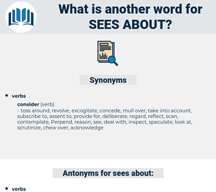 sees about, synonym sees about, another word for sees about, words like sees about, thesaurus sees about