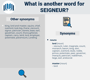 seigneur, synonym seigneur, another word for seigneur, words like seigneur, thesaurus seigneur