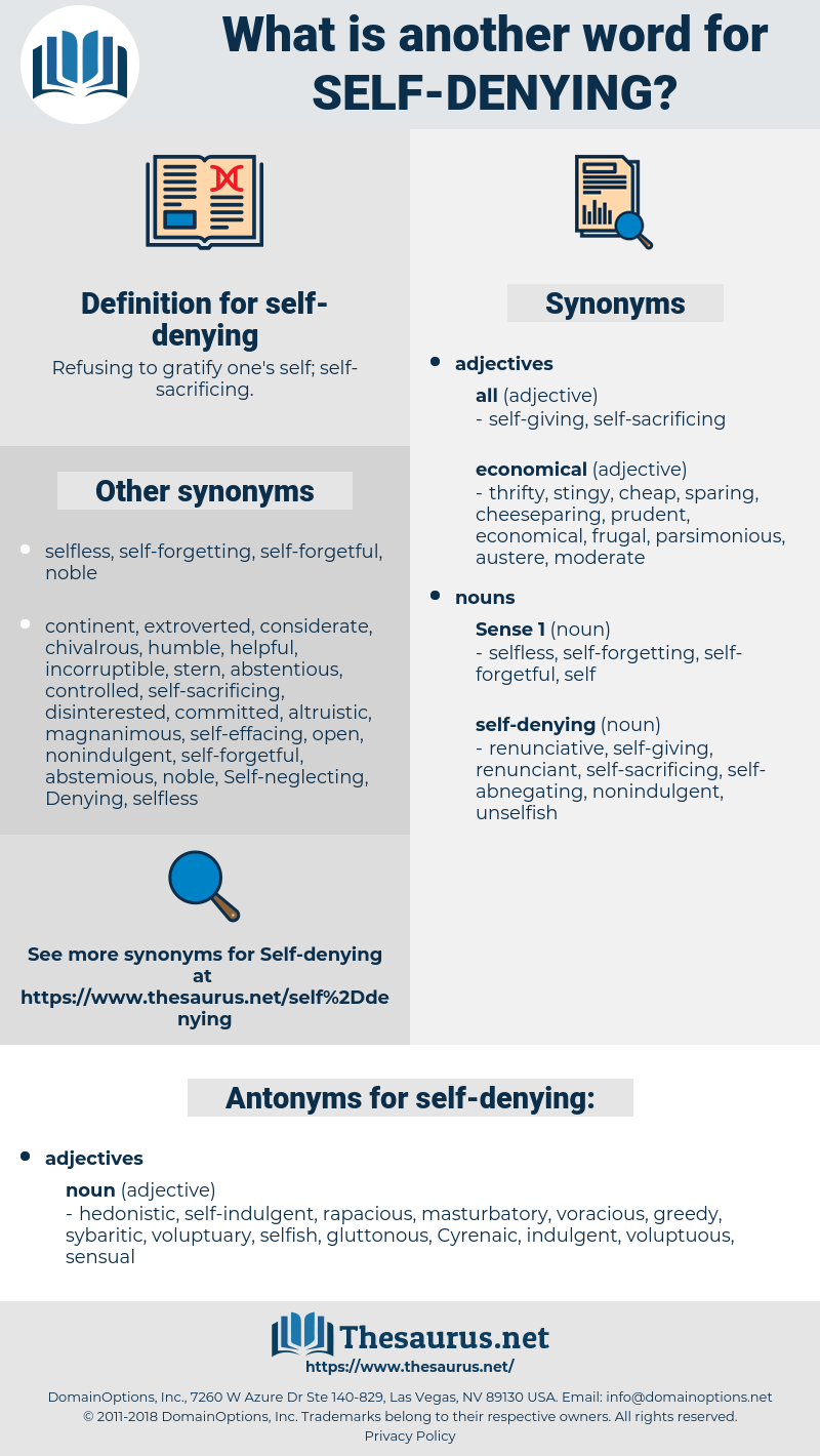 self-denying, synonym self-denying, another word for self-denying, words like self-denying, thesaurus self-denying