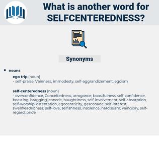 selfcenteredness, synonym selfcenteredness, another word for selfcenteredness, words like selfcenteredness, thesaurus selfcenteredness