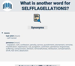 selfflagellations, synonym selfflagellations, another word for selfflagellations, words like selfflagellations, thesaurus selfflagellations