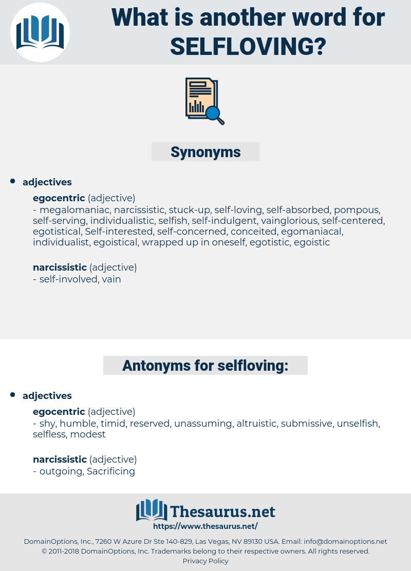 selfloving, synonym selfloving, another word for selfloving, words like selfloving, thesaurus selfloving