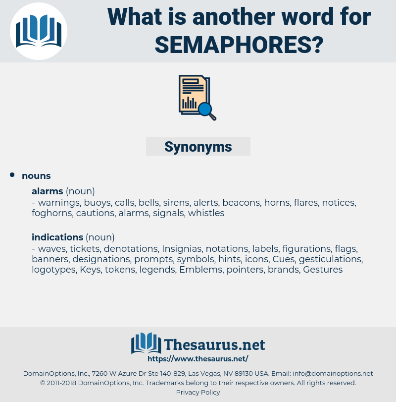 semaphores, synonym semaphores, another word for semaphores, words like semaphores, thesaurus semaphores