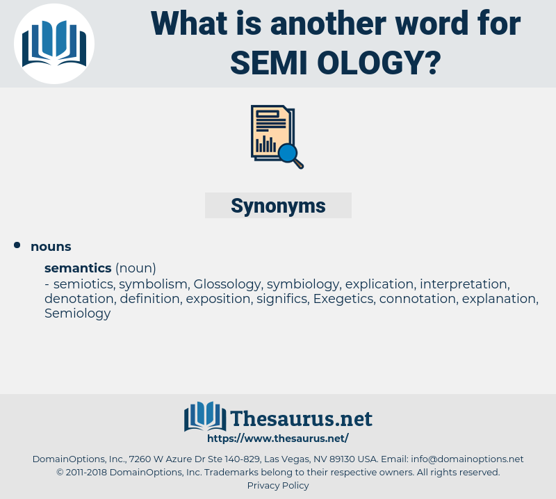 semi ology, synonym semi ology, another word for semi ology, words like semi ology, thesaurus semi ology