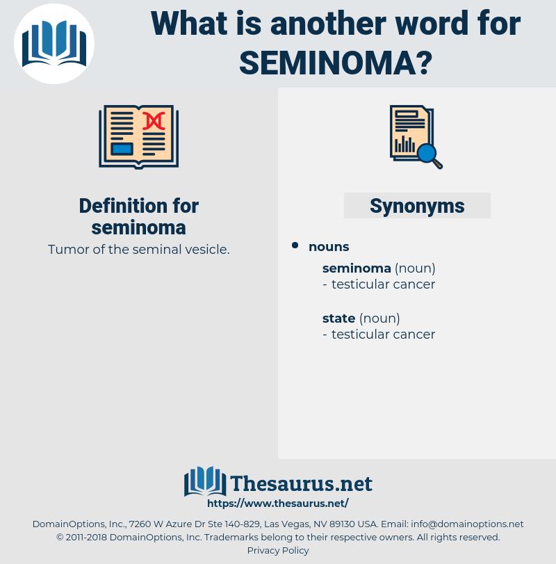 seminoma, synonym seminoma, another word for seminoma, words like seminoma, thesaurus seminoma