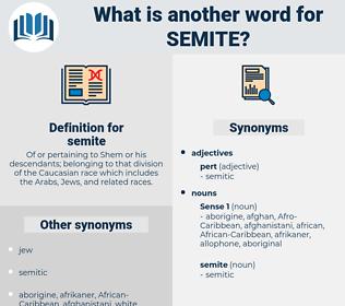 semite, synonym semite, another word for semite, words like semite, thesaurus semite