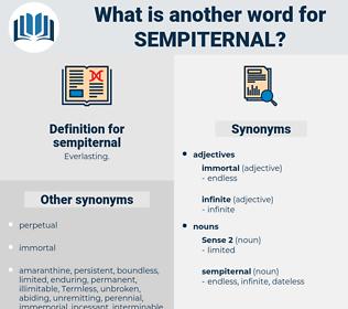 sempiternal, synonym sempiternal, another word for sempiternal, words like sempiternal, thesaurus sempiternal