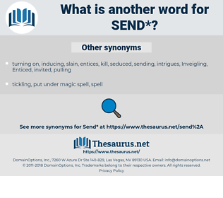 send, synonym send, another word for send, words like send, thesaurus send