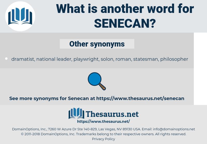 senecan, synonym senecan, another word for senecan, words like senecan, thesaurus senecan