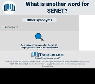 SENET, synonym SENET, another word for SENET, words like SENET, thesaurus SENET