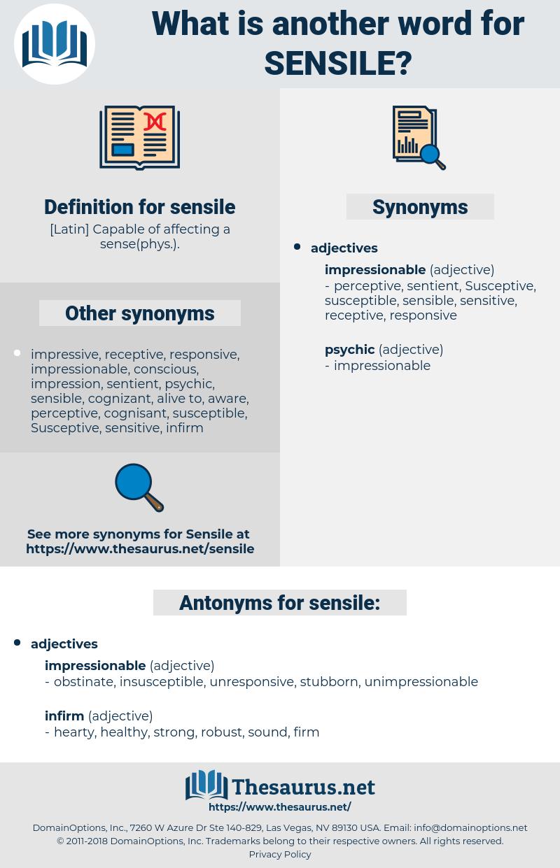 sensile, synonym sensile, another word for sensile, words like sensile, thesaurus sensile