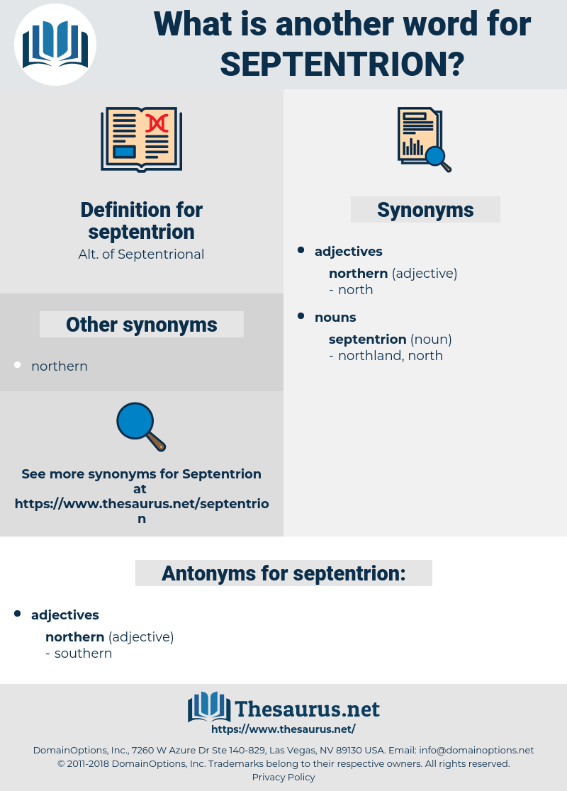 septentrion, synonym septentrion, another word for septentrion, words like septentrion, thesaurus septentrion