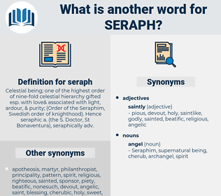 seraph, synonym seraph, another word for seraph, words like seraph, thesaurus seraph