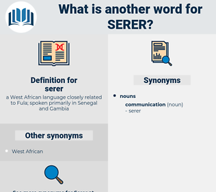 serer, synonym serer, another word for serer, words like serer, thesaurus serer