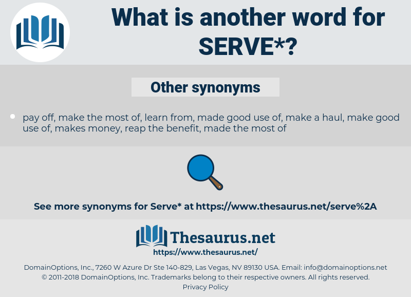 serve, synonym serve, another word for serve, words like serve, thesaurus serve