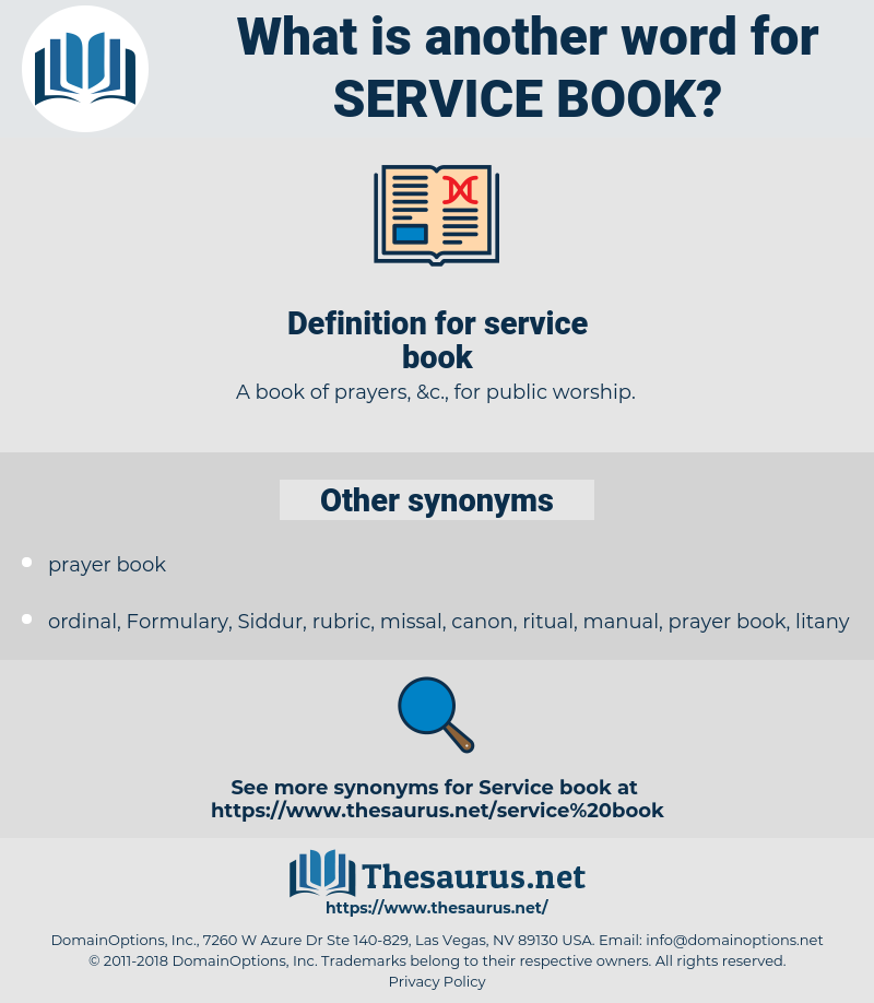 service book, synonym service book, another word for service book, words like service book, thesaurus service book