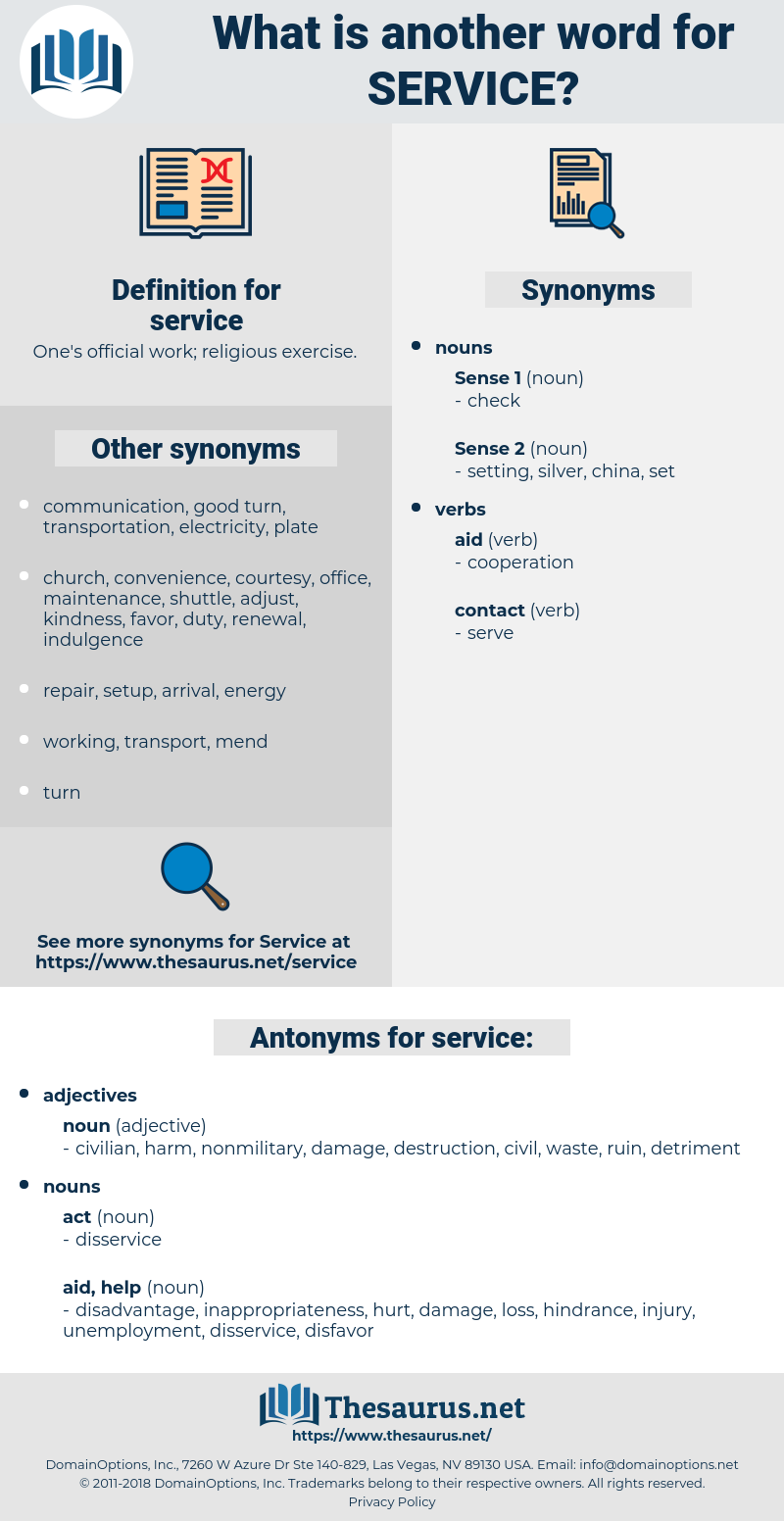 service, synonym service, another word for service, words like service, thesaurus service