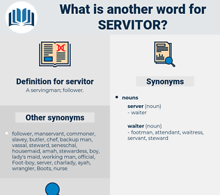 servitor, synonym servitor, another word for servitor, words like servitor, thesaurus servitor