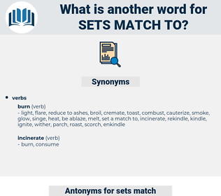 sets match to, synonym sets match to, another word for sets match to, words like sets match to, thesaurus sets match to
