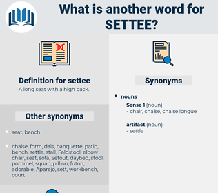 settee, synonym settee, another word for settee, words like settee, thesaurus settee