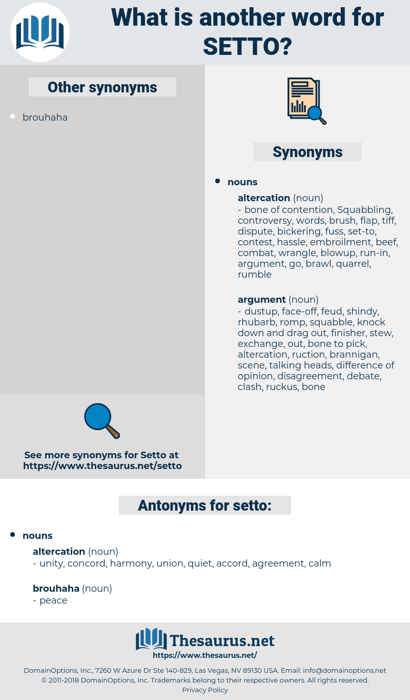 setto, synonym setto, another word for setto, words like setto, thesaurus setto