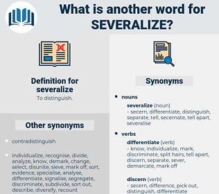 severalize, synonym severalize, another word for severalize, words like severalize, thesaurus severalize