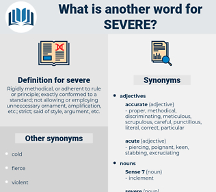 severe, synonym severe, another word for severe, words like severe, thesaurus severe