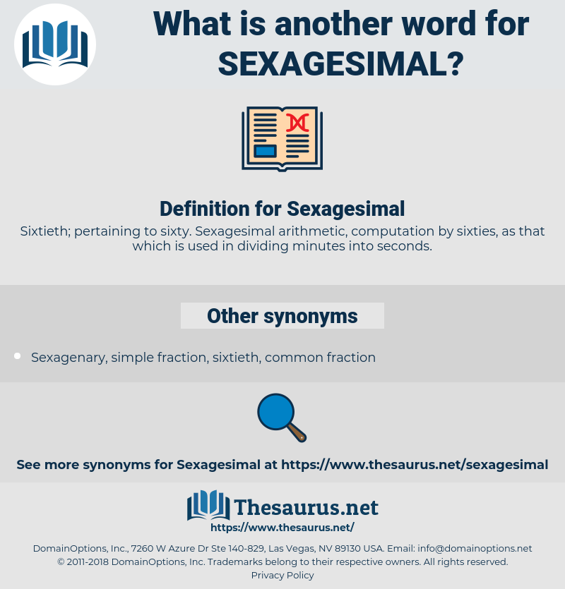 Sexagesimal, synonym Sexagesimal, another word for Sexagesimal, words like Sexagesimal, thesaurus Sexagesimal