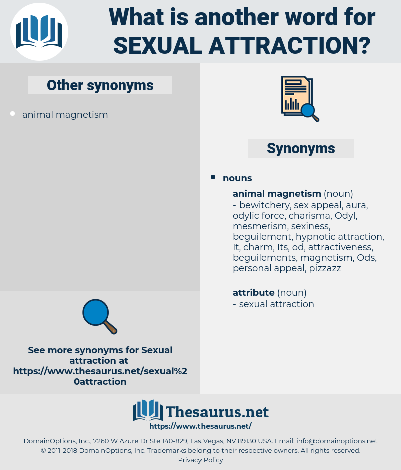 sexual attraction, synonym sexual attraction, another word for sexual attraction, words like sexual attraction, thesaurus sexual attraction