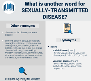 sexually transmitted disease, synonym sexually transmitted disease, another word for sexually transmitted disease, words like sexually transmitted disease, thesaurus sexually transmitted disease