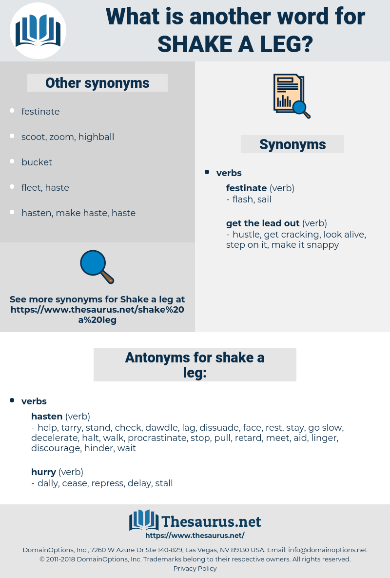 shake a leg, synonym shake a leg, another word for shake a leg, words like shake a leg, thesaurus shake a leg