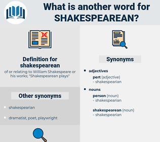 shakespearean, synonym shakespearean, another word for shakespearean, words like shakespearean, thesaurus shakespearean