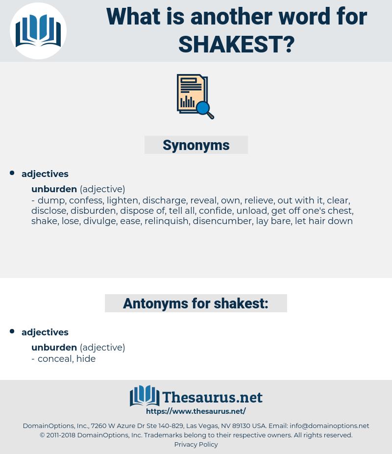 shakest, synonym shakest, another word for shakest, words like shakest, thesaurus shakest