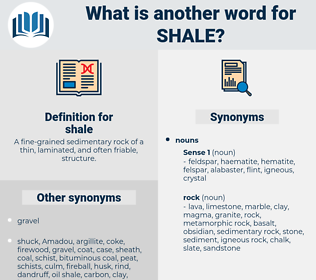 shale, synonym shale, another word for shale, words like shale, thesaurus shale