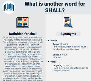 shall, synonym shall, another word for shall, words like shall, thesaurus shall