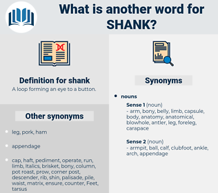 shank, synonym shank, another word for shank, words like shank, thesaurus shank