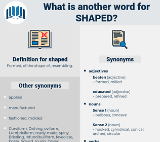 shaped, synonym shaped, another word for shaped, words like shaped, thesaurus shaped