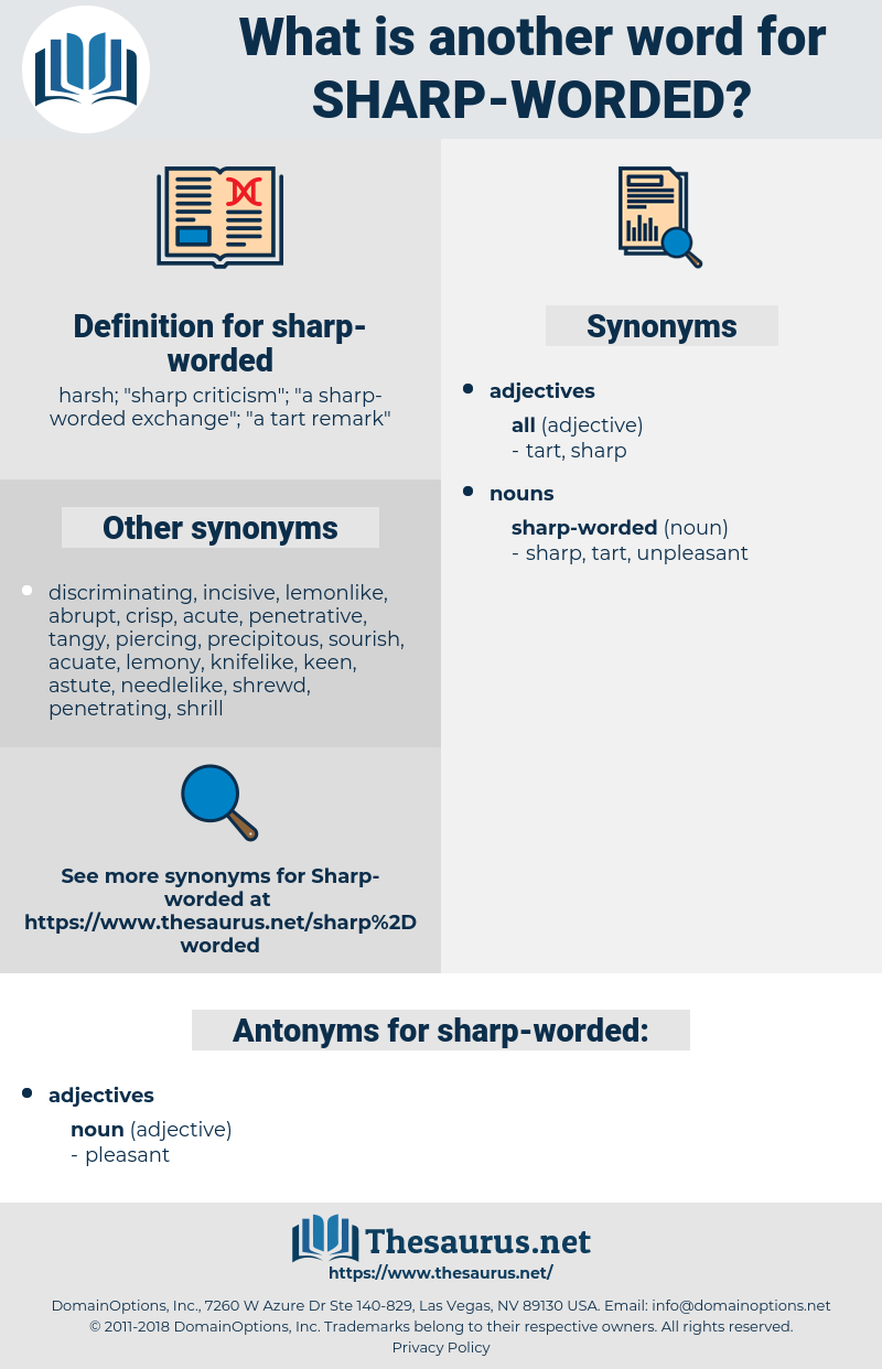 sharp-worded, synonym sharp-worded, another word for sharp-worded, words like sharp-worded, thesaurus sharp-worded