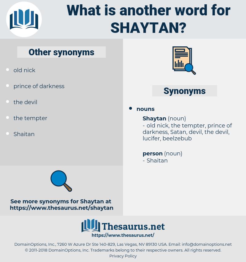 shaytan, synonym shaytan, another word for shaytan, words like shaytan, thesaurus shaytan