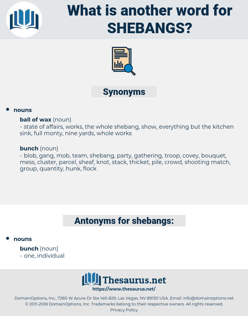 shebangs, synonym shebangs, another word for shebangs, words like shebangs, thesaurus shebangs