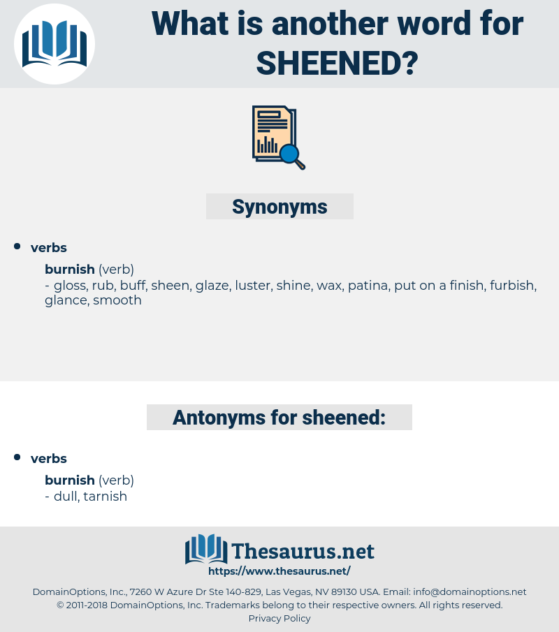 sheened, synonym sheened, another word for sheened, words like sheened, thesaurus sheened