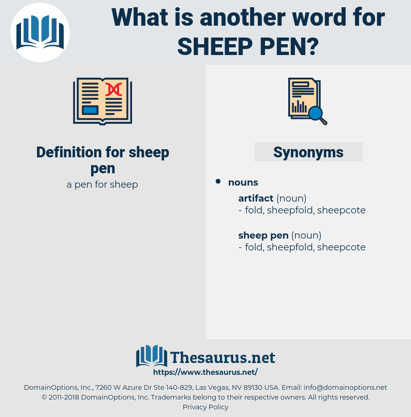 sheep pen, synonym sheep pen, another word for sheep pen, words like sheep pen, thesaurus sheep pen