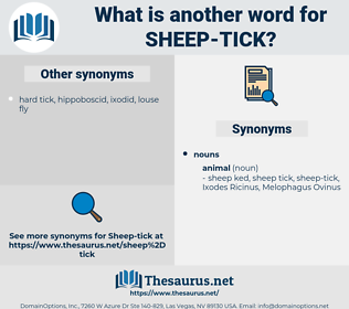 sheep tick, synonym sheep tick, another word for sheep tick, words like sheep tick, thesaurus sheep tick