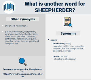 sheepherder, synonym sheepherder, another word for sheepherder, words like sheepherder, thesaurus sheepherder