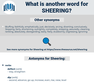 Sheering, synonym Sheering, another word for Sheering, words like Sheering, thesaurus Sheering