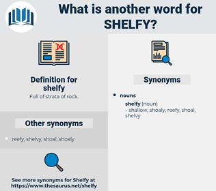 shelfy, synonym shelfy, another word for shelfy, words like shelfy, thesaurus shelfy