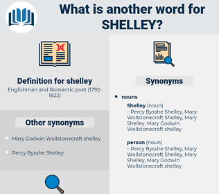 shelley, synonym shelley, another word for shelley, words like shelley, thesaurus shelley