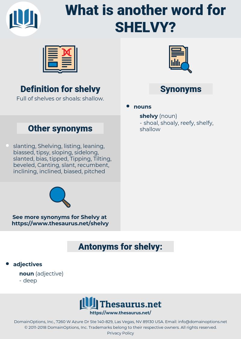 shelvy, synonym shelvy, another word for shelvy, words like shelvy, thesaurus shelvy