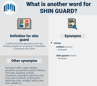 shin guard, synonym shin guard, another word for shin guard, words like shin guard, thesaurus shin guard