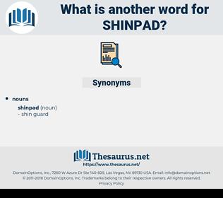 shinpad, synonym shinpad, another word for shinpad, words like shinpad, thesaurus shinpad